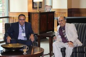 A. Bouras (IFIP WG5.1 Chair) and K. Ramani (Keynote Speaker)