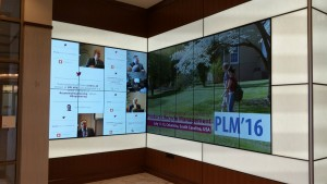 PLM16 infotech wall!