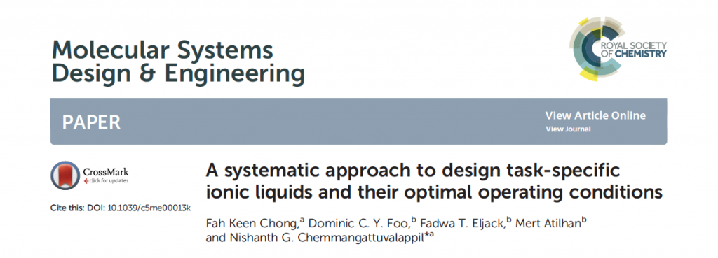 Computer Aided Product Design (CAPD) of Task-specific Ionic Liquid Solvents for CO2 Capture